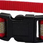CC4063 Reflective Glitter Cat Collar Red LR