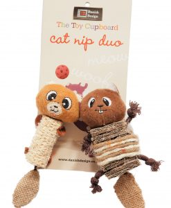 Chip and Chap Catnip Duo Cat Toys by Danish Design