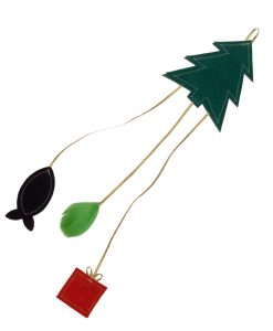 Christmas Tree Cat Toy by Creature Clothes