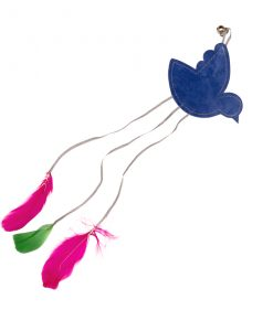 Feathery Bird Cat Toy by Creature Clothes