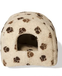 Fleece Beige and Chocolate Igloo by Danish Design