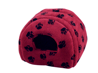 Sherpa Fleece Wine Cat Igloo by Danish Design
