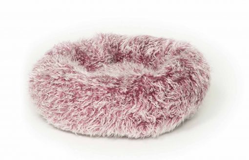Fluffies Cat Cushion Purple by Danish Design