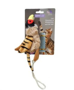 Kitty and Co Refillable Catnip Pheasant Cat Toy