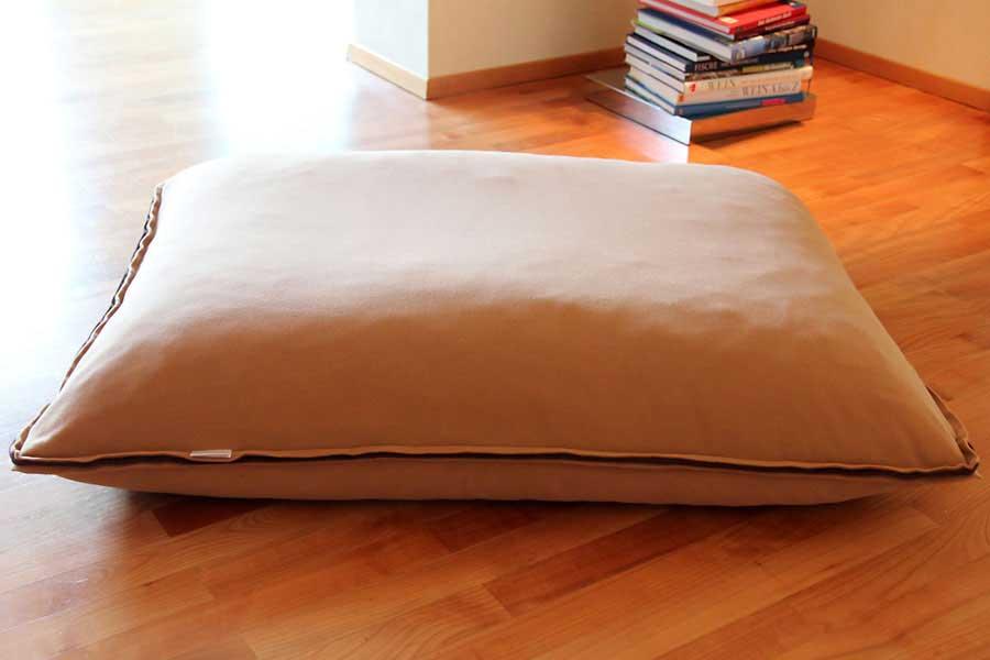 Luxury Divan Cinque Fleece Cat Bed Caramel 2
