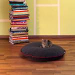 Luxury Divan Cinque Fleece Cat Bed Graphite