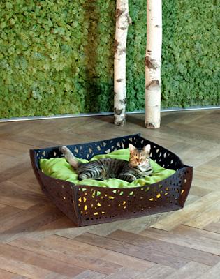Luxury Felt Bowl Nido Cat Bed