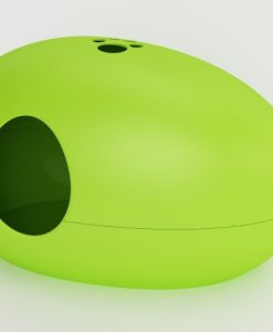 Luxury Green Poopoopeedo Cat Litter Box