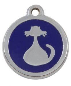 Luxury My Sweetie Blue Cat Pet ID Tag