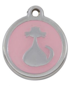 Luxury My Sweetie Light Pink Cat Pet ID Tag
