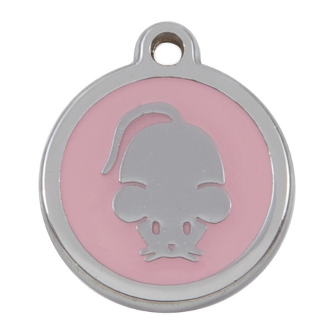 Luxury My Sweetie Light Pink Mouse Cat Pet ID Tag