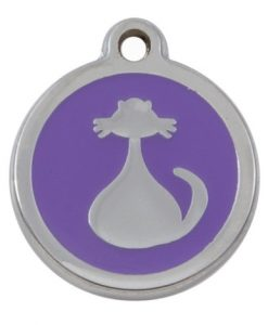 Luxury My Sweetie Lilac Cat Pet ID Tag