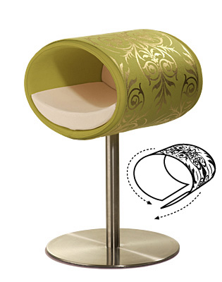 Luxury Ornament Rondo Cover Gold Pea Green