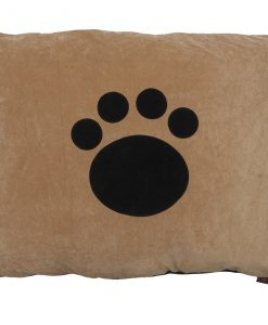 Paw Cat Nappa Black on Tan by Creature Clothes