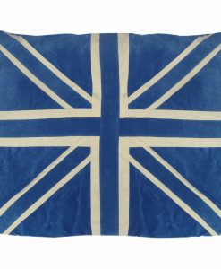 Union Jack Cat Nappa Blue by Creature Clothes
