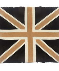 Union Jack Cat Nappa Tan & Brown by Creature Clothes