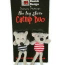 Midge and Madge Catnip Duo Cat Toys by Danish Design