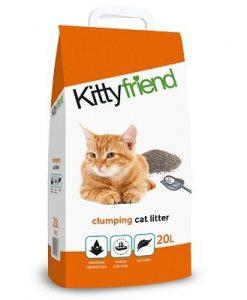 Kitty Friend (previously Sanicat) Clumping Cat Litter 20L