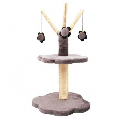 Cat Circus 2 Tier Paw Shaped Scratcher