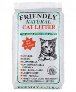 Friendly Natural Cat Litter at Chelsea Cats