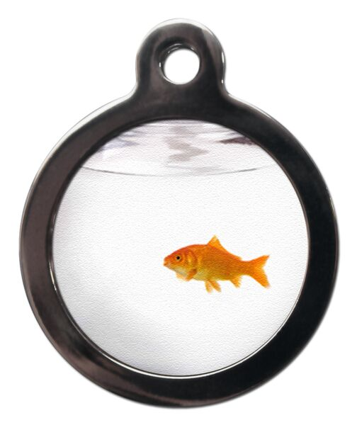 Fun Goldfish Cat ID Tag