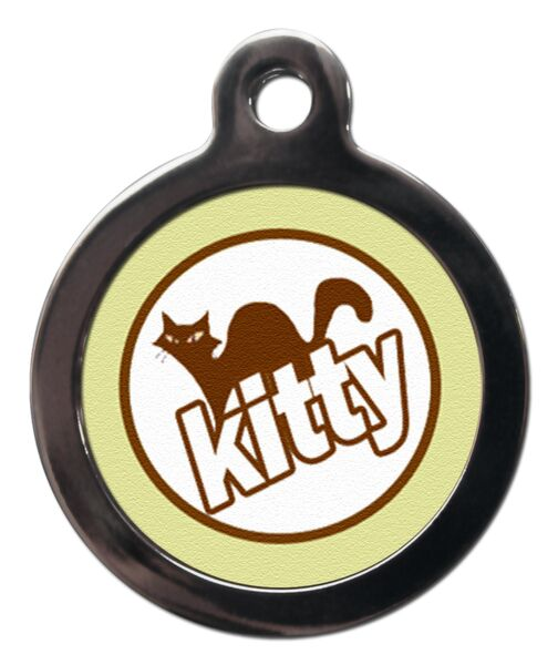 Kitty Cat ID Tag