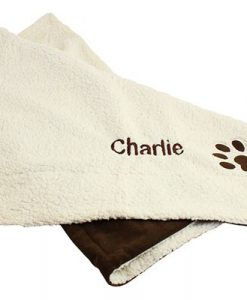 Personalised Luxury Cat Blanket