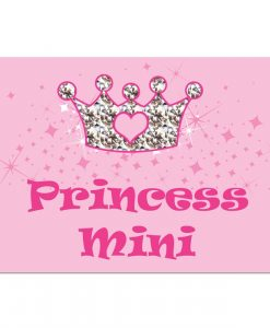 Personalised Pink Princess Cat Placemat