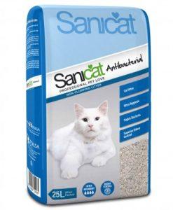 Sanicat Antibacterial Cat Litter 25L