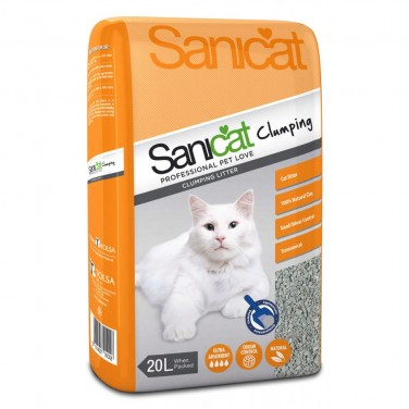 Sanicat Clumping Cat Litter 20L