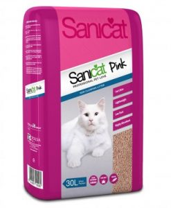 Sanicat Pink Cat Litter 30L