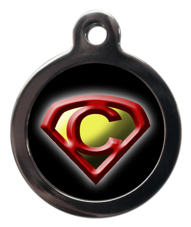 Supercat Emblem Cat ID Tag
