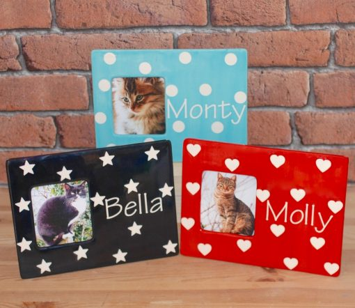 Personalised Cat Photo Frame