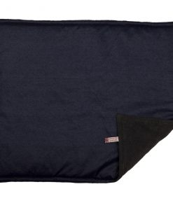 Denim with Grey Fleece Padded Cat Blanket by Creature Clothes