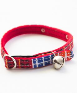Hiro and Wolf Banda Red Cat Collar UK
