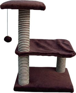 Cat Circus 72cm 3 Tier Deluxe Cradle Sisal Scratcher
