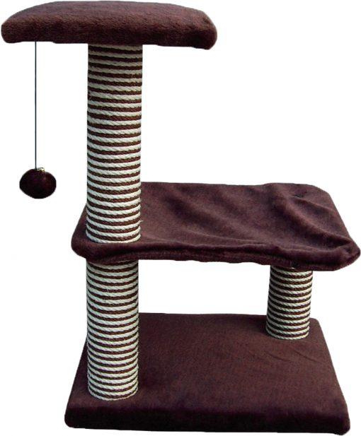 Cat Circus 72cm 3 Tier Deluxe Cradle Sisal Scratcher