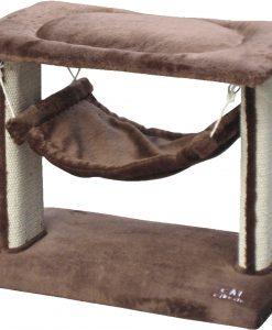 Cat Circus 46cm 2 Tier Hammock Sisal Scratcher