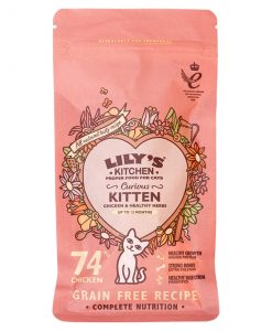Lily's Kitchen Curious Kitten Complete Dry Food