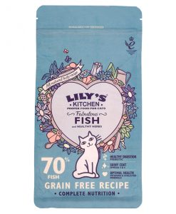 Lily's Kitchen Fabulous Fish Complete Dry Food for Cats