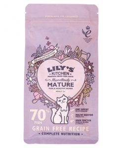 Lily's Kitchen Marvellously Mature Complete Dry Food for Cats