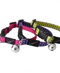 Spotty Cat Collars Hem and Boo
