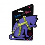 Hem and Boo Yellow Spotty Cat Harness & Lead Set