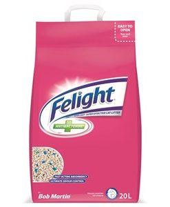 Bob Martin Felight Antibacterial Cat Litter 20L