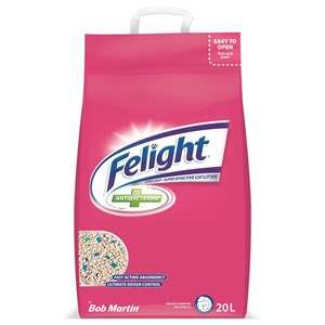 Bob Martin Felight Antibacterial Cat Litter 20L
