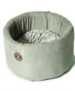 Arctic Grey Cat Cosy Bed By Danish Design