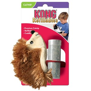 Kong Cat Refillable Catnip Hedgehog