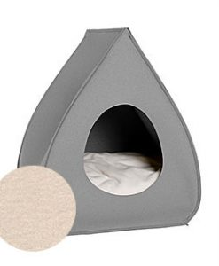 Luxury Pina Felt Cat Cave Bed