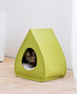 Luxury Pina Felt Cat Cave Bed