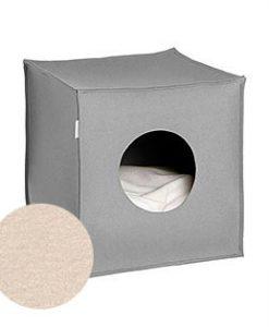 Luxury Mood Felt Cat Cave Bed